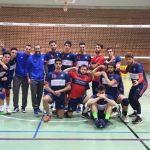 El CD Universidad Granada de voleibol masculino se hace fuerte en Caravaca