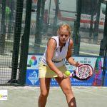 Lucía Martínez comienza su participación en el Open de Mijas