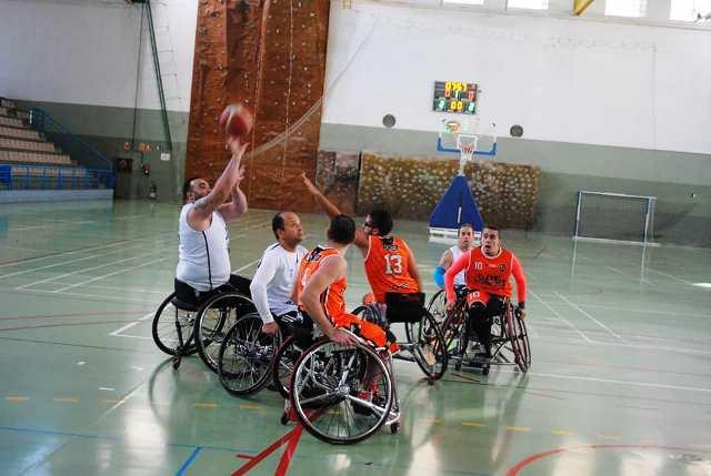 CD Granada Integra de baloncesto en silla de ruedas vuelve a la competición