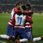 El Granada CF revitaliza los últimos minutos ante la UD Almería (3-2)