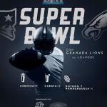 Granada Lions presentes en la Super Bowl a su manera en familia