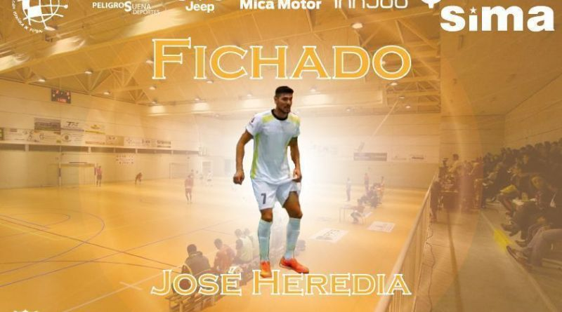 José Heredia refuerzo importante para el SIMA Peligros Fútbol Sala