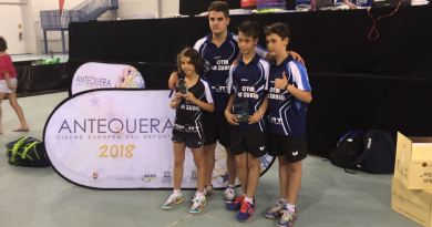 El Club Tenis de Mesa La Zubia presente en el Campeonato de España