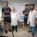 La plantilla del Coviran Granada supera el examen médico