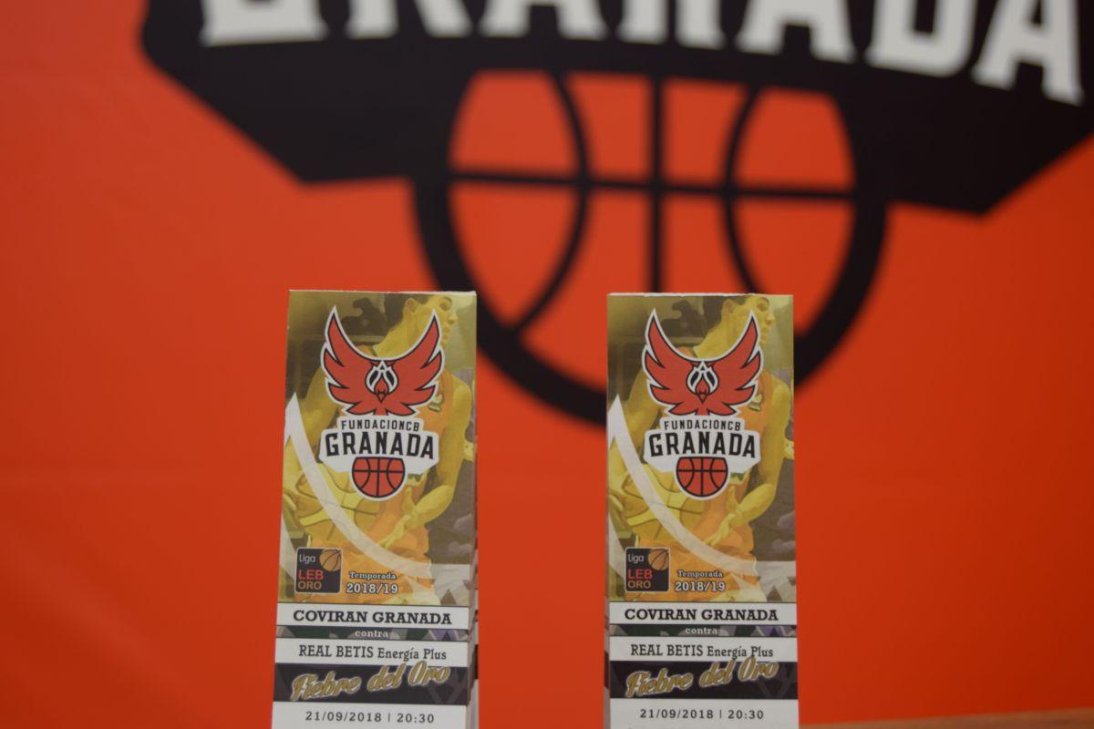 Las entradas para la visita del Betis al Coviran Granada, ya a la venta