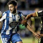 Un error puntual rompe un duelo equilibrado entre Deportivo y Granada CF