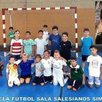 Ilusión en el estreno de la escuela Salesianos del Peligros Fútbol Sala