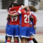 El Granada CF Femenino regala una goleada a Yael Oviedo en su despedida