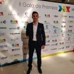 Jose Manuel Ruiz, premio superación en II Gala Premios DEX