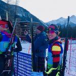 Victoria Padial obtiene un buen puesto en el relevo mixto de biathlon