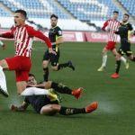 El Recreativo Granada cambia su dinámica con un empate en Almería