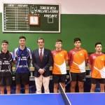 El Club Tenis de Mesa La Zubia tiene un fin de semana intenso en la Nave Cepisa