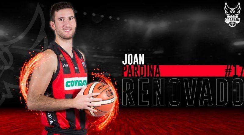 Coviran Granada y Joan Pardina renuevan su vinculación en dos temporadas