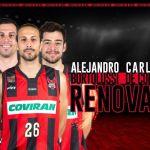 Fundación CB Granada confirma la renovación de Carlos de Cobos, Alejandro Bortolussi y Josep Pérez