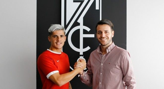 Echu se incorpora al Club Recreativo Granada