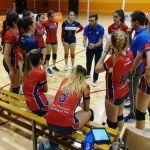 El Club Deportivo Universidad de Granada en voleibol femenino apura hasta el quinto set para triunfar