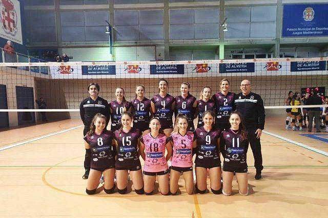 Opportunity CDU Atarfe infranqueable para sus rivales en Primera Nacional de voleibol femenino