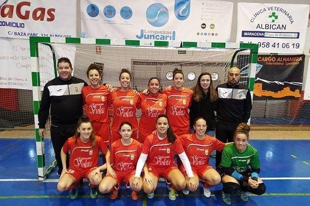 Jornada redonda para Albolote Futsal tanto en categoría femenina como masculina