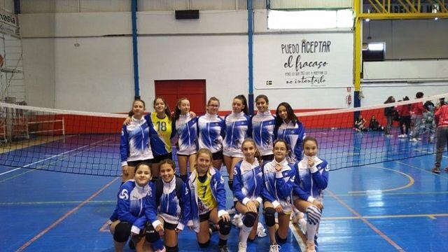 Nueva jornada de contrastes en los equipos de Sermud Armilla de voleibol