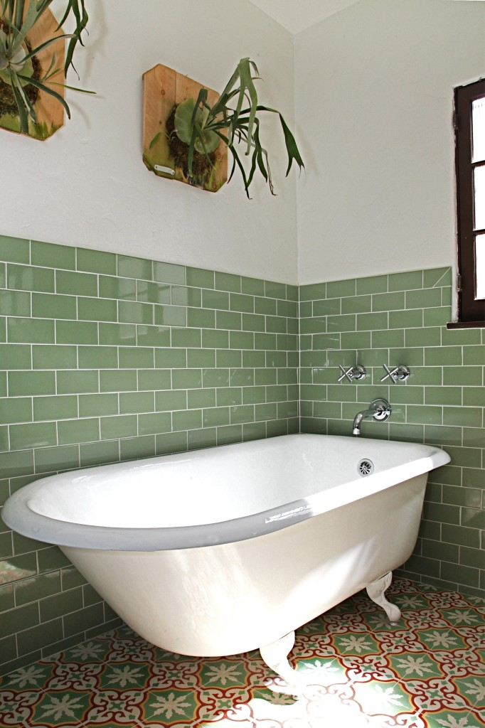 How To Tile A Bathroom Wall Granada Tile Cement Tile Blog Tile Ideas Tips And More
