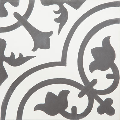 9 great black and white cement tiles