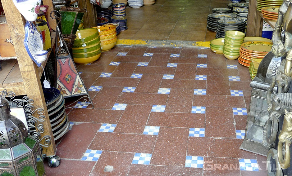 spanish style cement and concrete tiles
