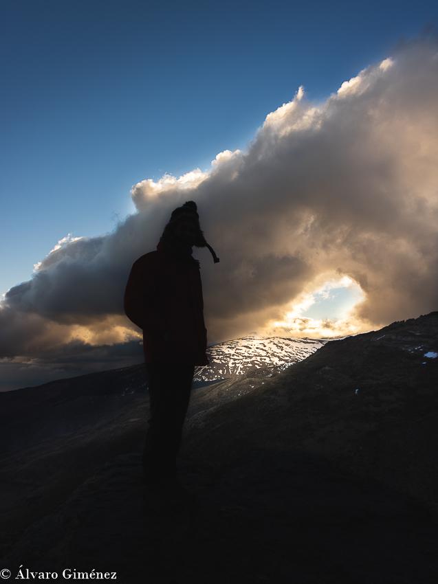 hablar con las montañas Sierra Nevada