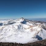 subir al Mulhacén con nieve