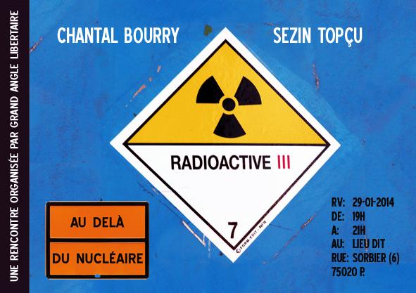 Au delà du nucléaire - Rencontre Grand Angle libertaire