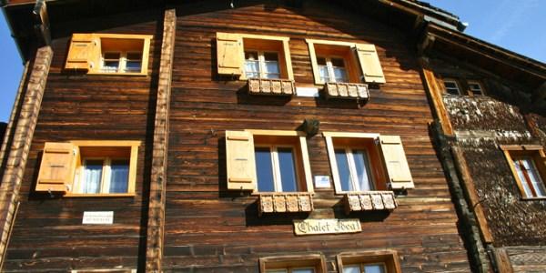 Loèche-les-Bains : chalet traditionnel