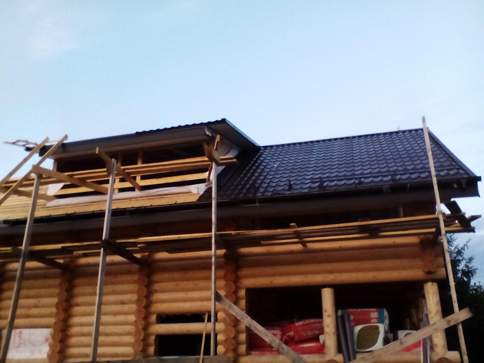 Процесс строительства дома из бруса г.Истра
