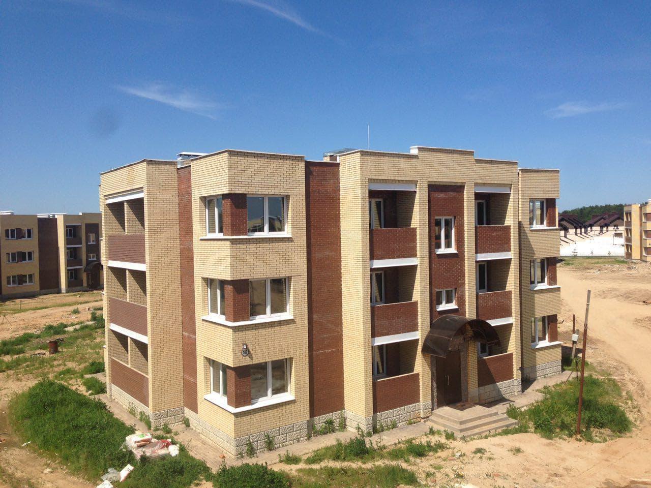 Строительство жилых домов «Жаккард» в КП
