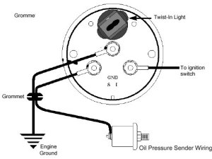 Oil Pressure Gauge Installation