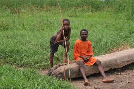 Village bord du lac Togo F13_2631