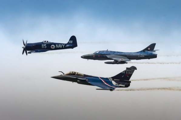 Hawker Sea Fury, Rafale, Hawker Hunter