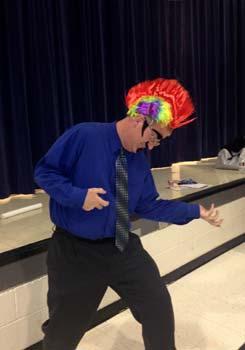 Principal at Combs Academy Kickoff