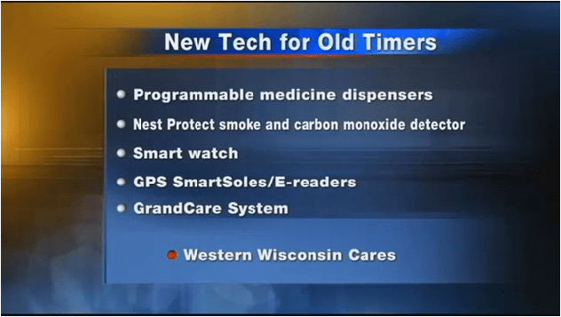 """GrandCare hailed as """"Granddaddy of all Tech Tools for Seniors"""" in local news segment"""