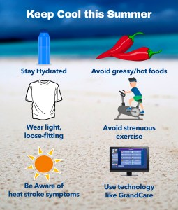 Just some of the ways you can stay safe and cool this summer