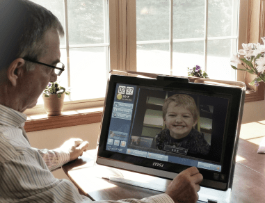 Senior home care technology
