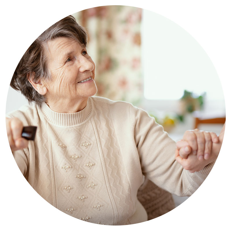 Technology for professional in-home caregiving