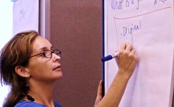 Jocalyn Clark recommends simple, lucid language for proposal writing