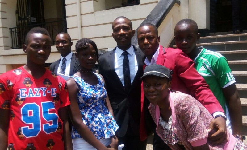 Youth helped by the Youth Readiness Initiative with the Minister of Youth Affairs after presenting to the government Youth Employment Scheme design team.