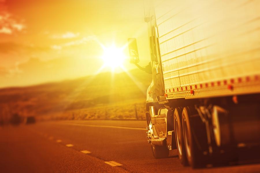 Branding Solar Semi Truck Technology