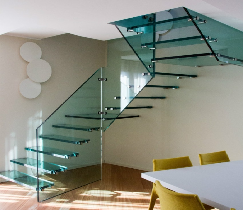 What Is The Price Of A Floating Staircase The Right Price Of | Glass Banisters For Stairs Price | Floating Stairs | Oak Staircase | Oak Handrail | Wood | Curved Glass