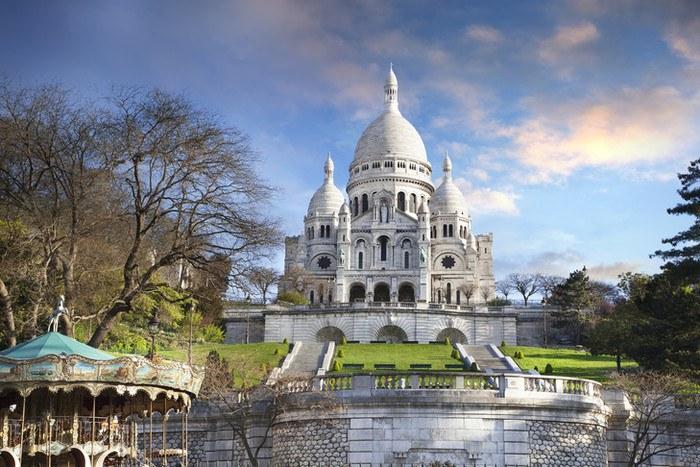 La Basilique du Sacré Cœur de Montmartre - Grande Arche
