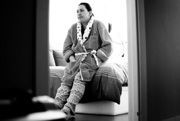 Lola Andújar tiene varias secuelas de la violencia de género