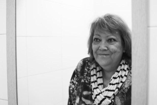 Marga Rivas es activista de la PAH