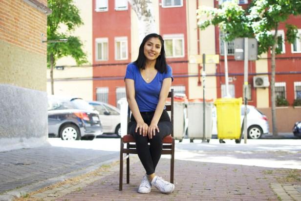 Andrea Serrano no se siente española totalmente
