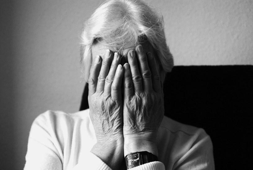 Antonia tiene 86 años y vive sola