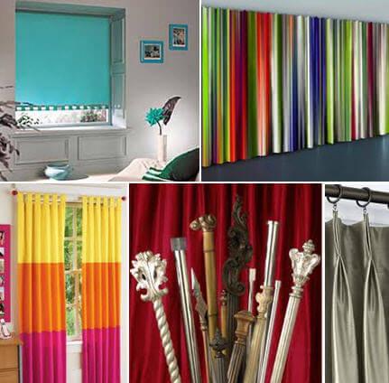 C mo montar una f brica de cortinas for Accesorios para colgar cortinas